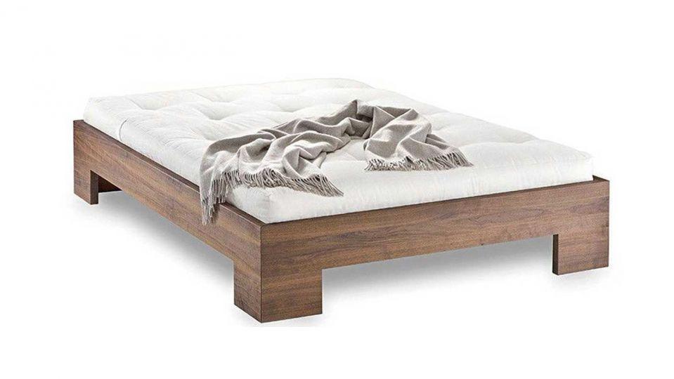 Bed Möllner-Platz-9 – Solid wood bed in timeless elegance|Bed - Möllner Platz 9 – with Futon