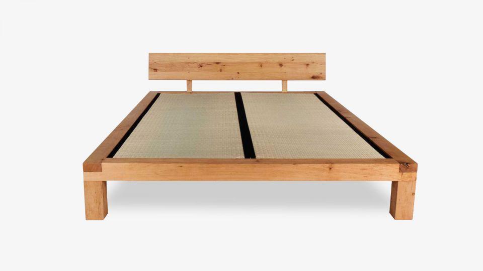 Tatami-Bett YAK – with headboard variant 1