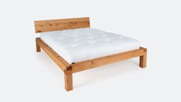 Bed YAK; metal-free solid wood bed; especially suitable for futons|Metal-free futon bed YAK made of solid pine wood