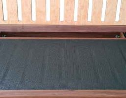 Anti-slip protection for futon sofa in standard size 60x120cm - suitable for all sizes of futon sofas.