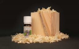 Stone pine cubes with organic stone pine oil