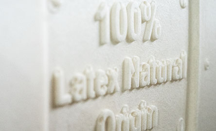 Futonwerk Uses 100 Natural Latex